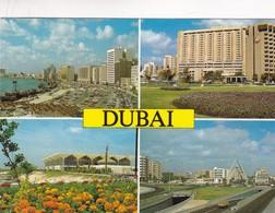 1998 CPA UNITED ARAB EMIRATES. DUBAI. MULTI VUE VIEW. AWNI. CIRCULEE TO BUENOS AIRES - BLEUP - Emirats Arabes Unis