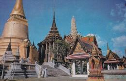 1977 CPA THAILAND. THE IMAGE OF THE ESMERALD BUDDHA. BANGKOK. THAILAND. THAI SILPA. CIRCULEE TO BUENOS AIRES - BLEUP - Thaïlande