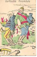 """""""Guillaume Rocamboler"""" Guerre 1914-1918 Illustrateur ANSEAUX Caricature - Guerre 1914-18"""