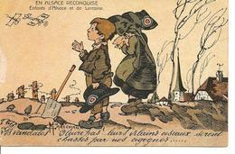 """""""ALSACE RECONQUISE"""" Guerre 1914-1918 Illustrateur MARECHAUX Enfants - Guerre 1914-18"""