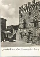 W3829 Bucine (Arezzo) - Montebenichi - Piazza Gorizia E Castello Altaserra / Viaggiata - Italia