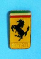 1 PIN'S //  ** LOGO / FERRARI ** - Ferrari