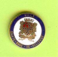 Pin's Ville Du Québec Sainte-Anne-De-Bellevue - 10FF20 - Villes