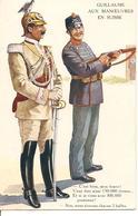 GUILLAUME AUX MANOEUVRES EN SUISSE Illustrateur Guerre 1914-1918 - Guerre 1914-18