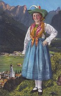 1920'S CPA FOLK COSTUMES SUISSE- DOLOMITI. COSTUMI DI PUSTERIA. LOR. FRANZL. - BLEUP - Costumes