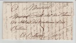 Côte Du Nord :  21 / PLANCOET Linéaire De 37 M/m + TM 5 / LAC De 1818 > Bellesme B/TB - Storia Postale