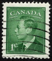 Canada - Scott #284 Used (4) - Used Stamps