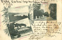 Indonesia, MOLUCCAS MALUKU, Multiview, Buitenbaai, Olifantstraat (1901) Postcard - Indonesië