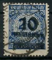 DEUTSCHES REICH 1923 HOCHINFLA Nr 335BP Gestempelt Gepr. X8991EA - Deutschland