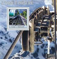 Sao Tome 2003 Mountain Trains - Sao Tome And Principe