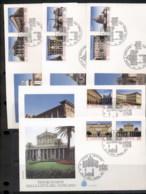 Vatican 1993 Architecture Of Vatican City 5x FDC - FDC
