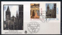 Vatican 1993 Europa Contemporary Art FDC - FDC
