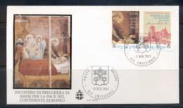 Vatican 1993 St Francis FDC - FDC