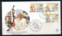 Vatican 1993 Travels Of Pope John Paul II FDC - FDC