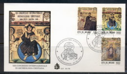 Vatican 1994 Mosaics From Euphrasian Basilica, Croatia FDC - FDC