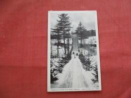 Toboggan Slide Lake Placid Ny     Ref  3474 - Winter Sports