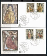 Vatican 1995 Shrine Of Loreto 2x FDC - FDC