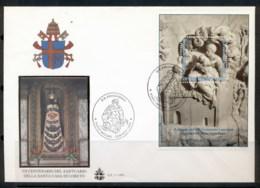 Vatican 1995 Shrine Of Loreto MS XLFDC - FDC
