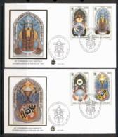 Vatican 1997 Eucharistic Congress Wroclaw 2x FDC - FDC