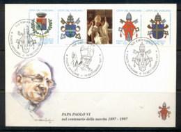 Vatican 1997 Pope Paul VI FDC - FDC