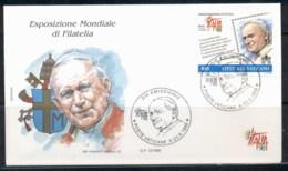Vatican 1998 Italia '98 FDC - FDC