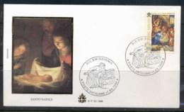 Vatican 1998 Xmas FDC - FDC