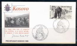 Vatican 1999 Kosovo FDC - FDC