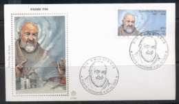 Vatican 1999 Padre Pio De Pietrelcina FDC - FDC