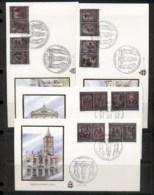 Vatican 1999 Panels Of Holy Door 4x FDC - FDC