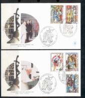 Vatican 1999 Travels Of Pope John Paul II 2x FDC - FDC