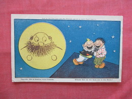 1906 American Journal Examiner   Kid See Face On Moon      Ref  3474 - Humour