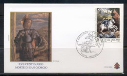 Vatican 2003 Martyrdom Of St George FDC - FDC