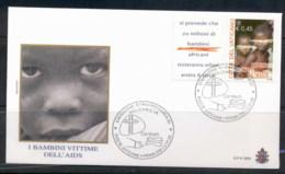 Vatican 2004 Children AIDS Victims FDC - FDC