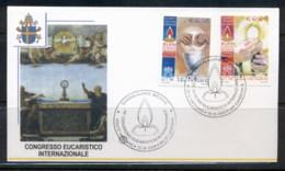 Vatican 2004 Eucharistic Congress FDC - FDC