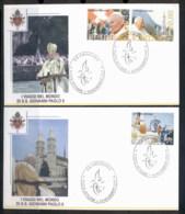 Vatican 2005 Journeys Of Pope John Paul II 2x FDC - FDC