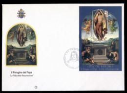 Vatican 2005 Resurection Of Christ MS XLFDC - FDC