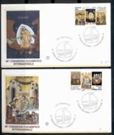 Vatican 2008 Eucharistic Congress 2x FDC - FDC