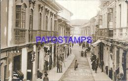 115469 BOLIVIA LA PAZ STREET CALLE MERCADO MARKET POSTAL POSTCARD - Bolivia