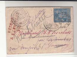 France / Germany / Undelivered Returned Mail - France