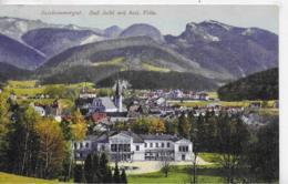 AK 0278  Bad Ischl Mit Kaiserlicher Villa - Verlag Brandt Um 1910 - Bad Ischl
