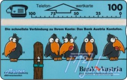 AUSTRIA Private: *Bank Austria Kontofon - 100E* - SAMPLE [ANK P230M] - Austria