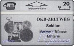 AUSTRIA Private: *ÖKB - Zeltweg* - SAMPLE [ANK P239] - Austria