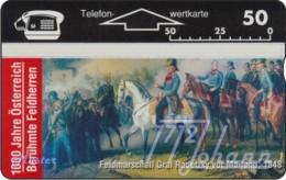 """TWK Österreich Privat: """"1000 J. Österreich - Radetzky"""" Gebr. - Austria"""