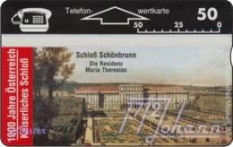 """TWK Österreich Privat: """"1000 J. Österreich - Schönbrunn"""" Gebr. - Austria"""