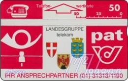 "TWK Österreich Privat: ""PAT - Lgr. Telekom"" Gebr. - Austria"