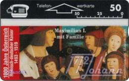 """TWK Österreich Privat: """"1000 J. Österreich - Maximillian I."""" Gebr. - Austria"""