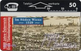 """TWK Österreich Privat: """"1000 J. Österreich - Türkenbelagerung"""" Gebr. - Austria"""