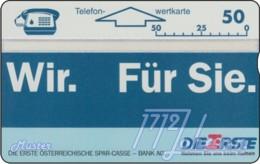 """TWK Österreich Privat: """"Erste Österr. Sparkasse 2"""" Gebr. - Austria"""