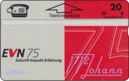 """TWK Österreich Privat: """"EVN 75"""" Gebr. - Austria"""