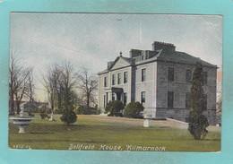 Small Old Postcard Of Bellfield House,Kilmarnock, East Ayrshire,Scotland,V105. - Ayrshire
